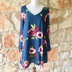 NWOT Altar'd State Floral Dress